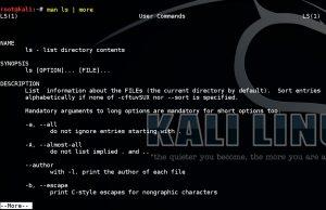 Basic Linux Commands man
