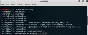 Basic Linux Commands locate