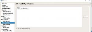 IOS on UNIX section