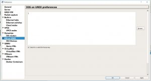 IOS on Unix Preferences