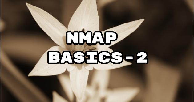 Nmap Basics-2