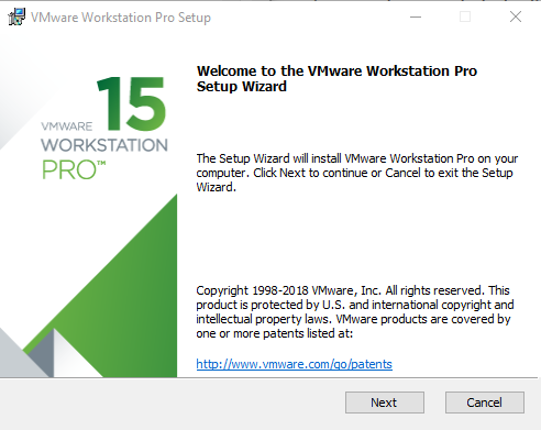 Vmware workstation 15 version install