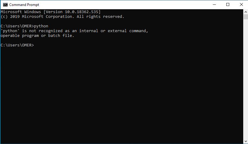 python install control