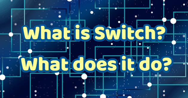 What is Switch? What does it do?