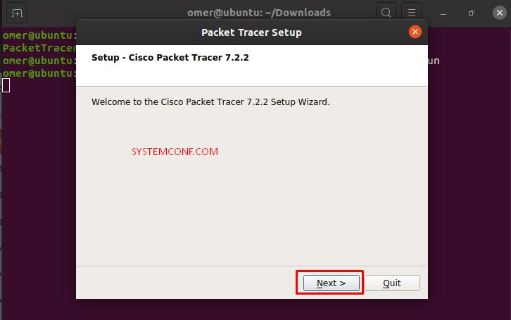 configure installation folder