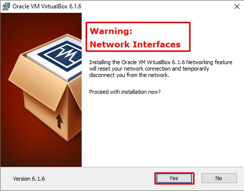 Oracle VirtualBox Network Interface