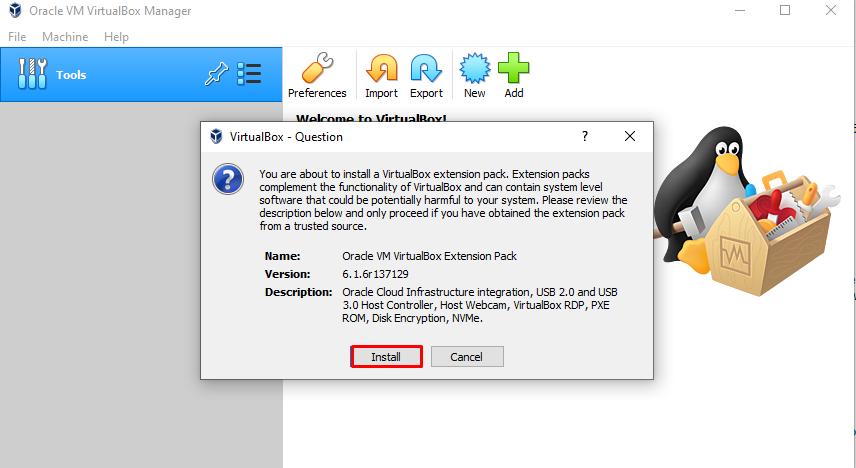 VirtualBox guest plugin