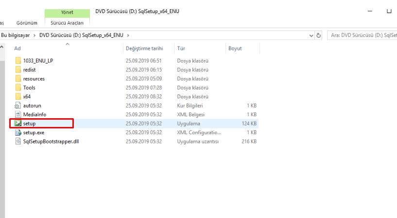 Sql Server 2019 Setup file