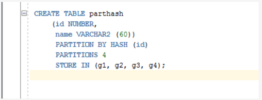 Hash Partitioning