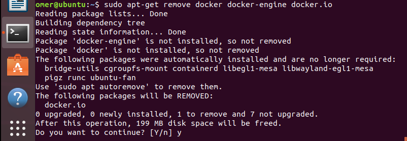 Delete Docker