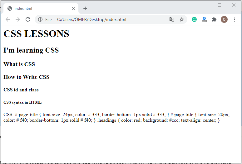 How to Write CSS