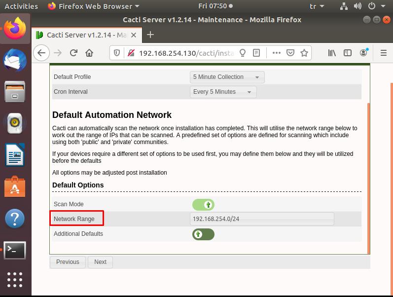 Default automation Network
