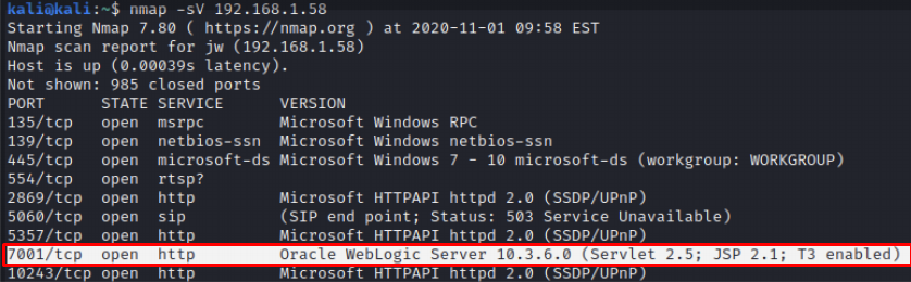 Oracle WebLogic Server 10.3.6.0 version