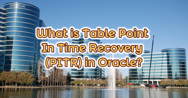 What is Table Point In Time Recovery (PITR) in Oracle?