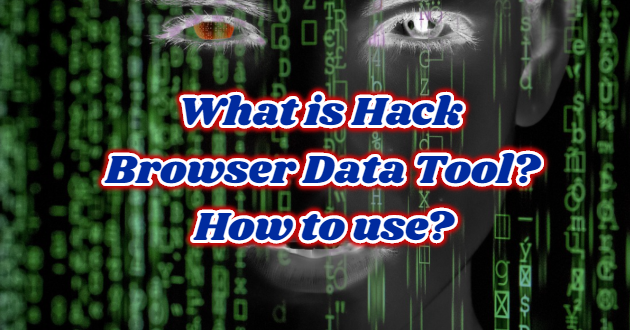 What is Hack Browser Data Tool? How to use?