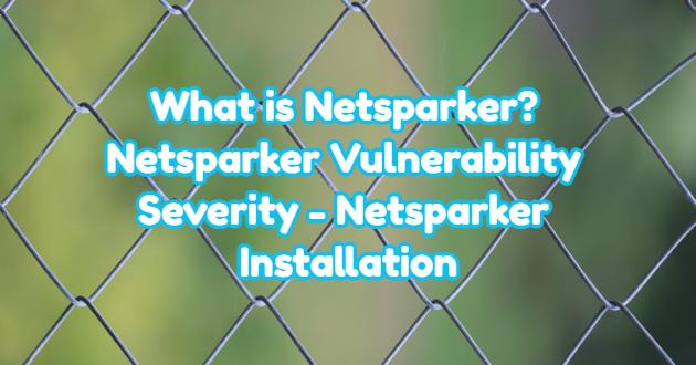 What is Netsparker? Netsparker Vulnerability Severity – Netsparker Installation