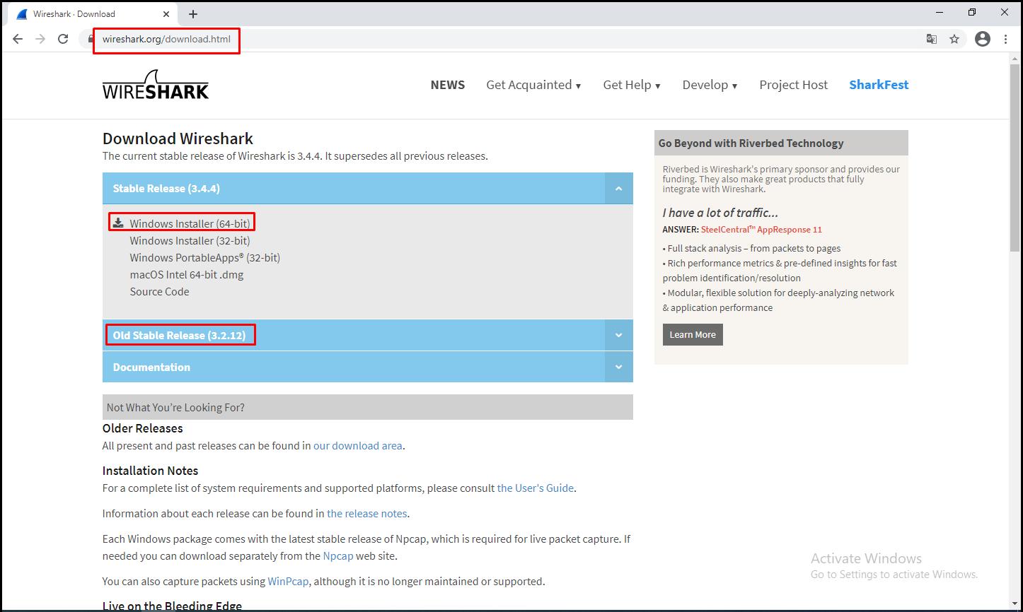 Download Wireshark