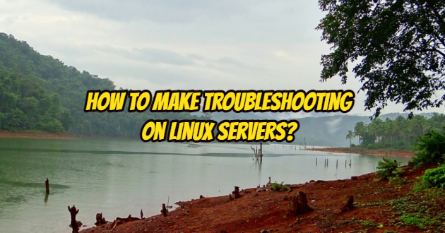 How to Make Troubleshooting on Linux Servers?