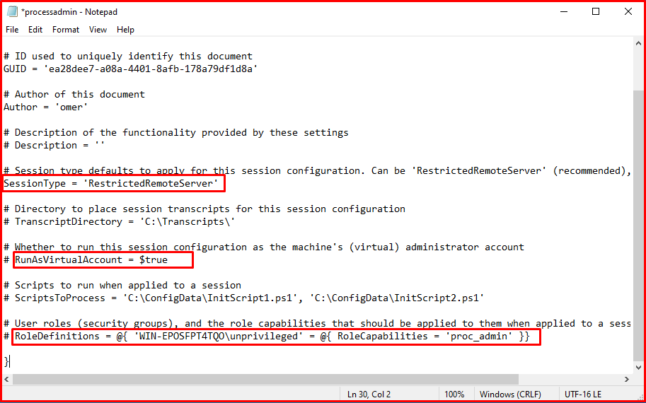 Powershell Remoting Configurations