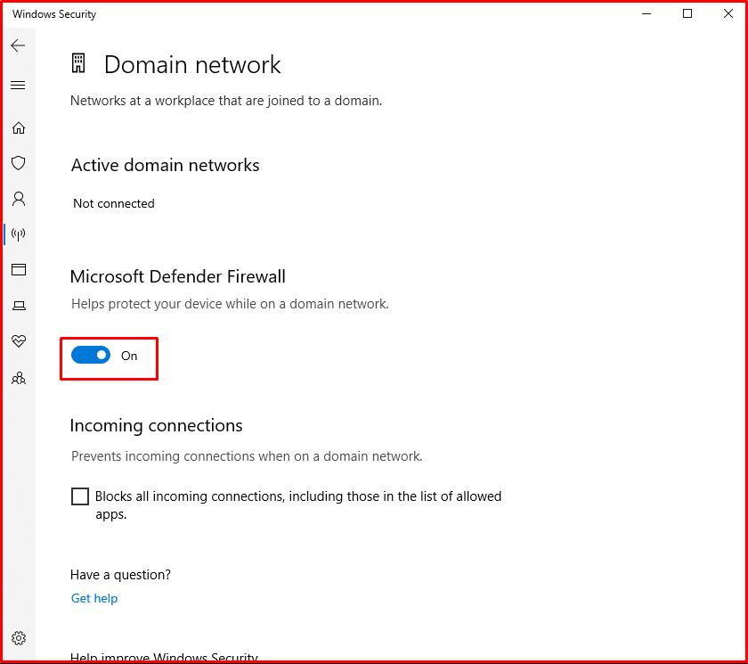 Domain network
