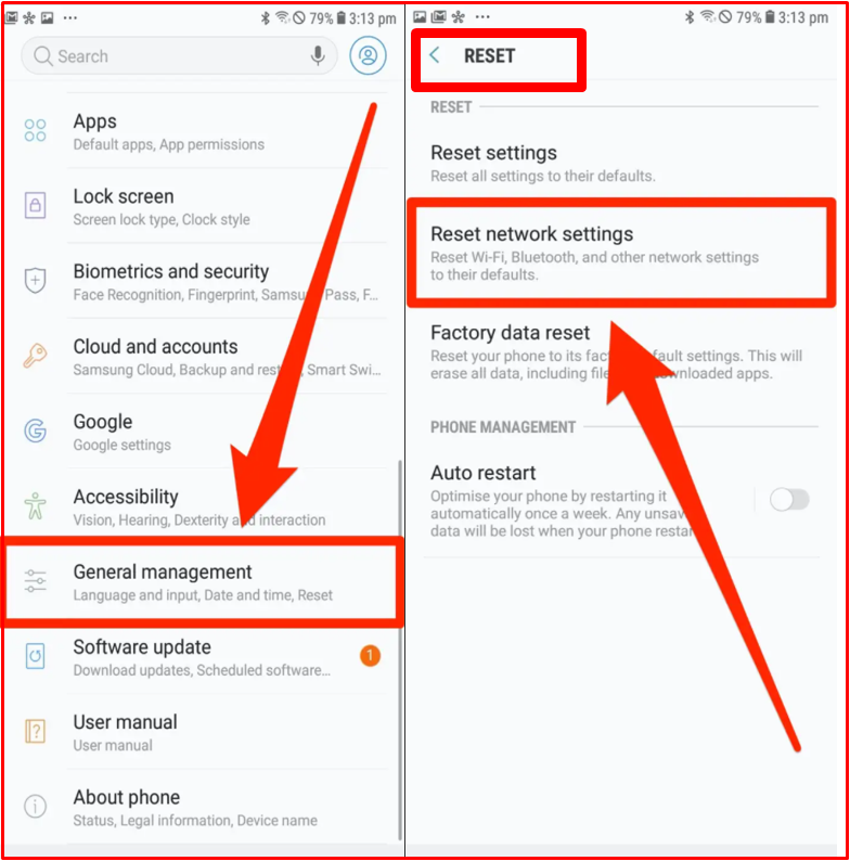 How to Reset Android Cell Phone Network Settings?