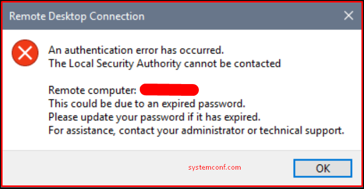 """""""The Local Security Authority Cannot Be Contacted"""" Error"""