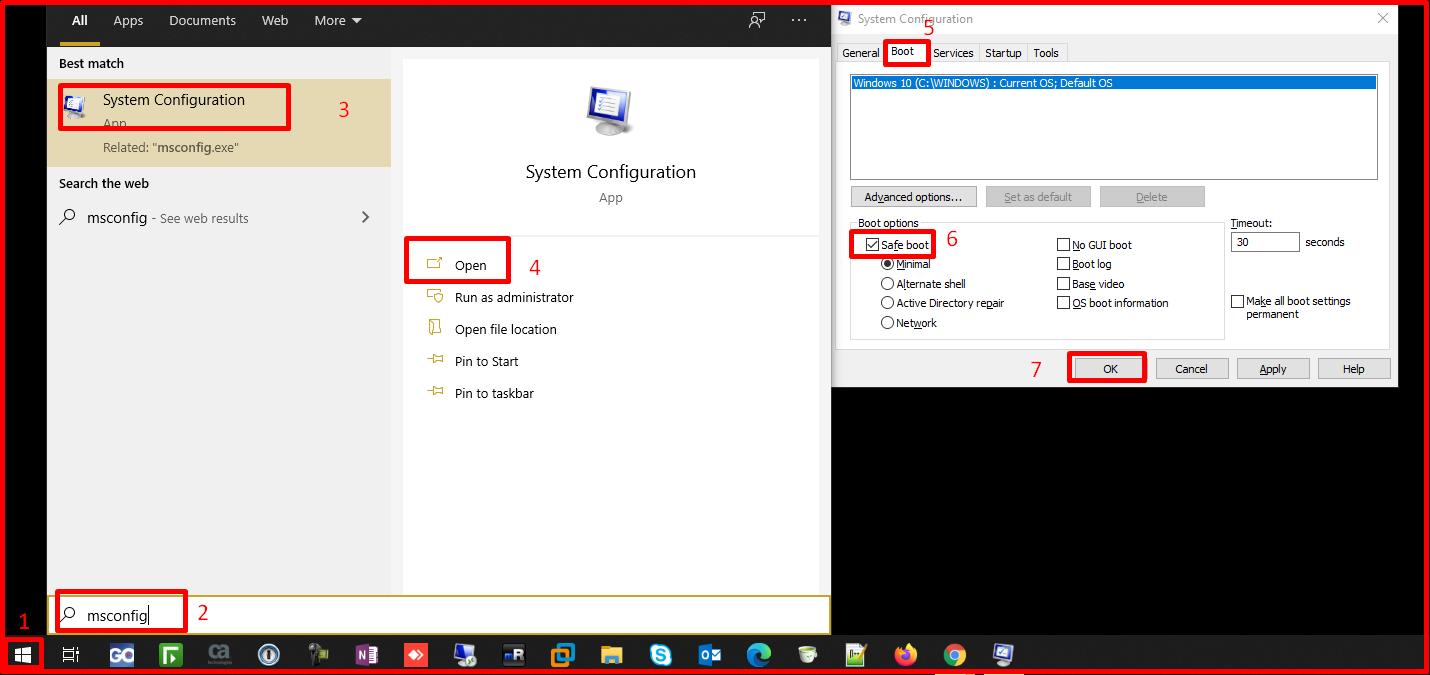 Msconfig(System Configuration)