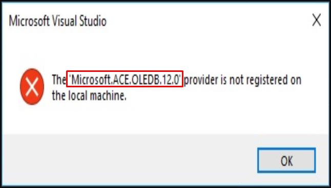 Microsoft.ACE.OLEDB.12.0