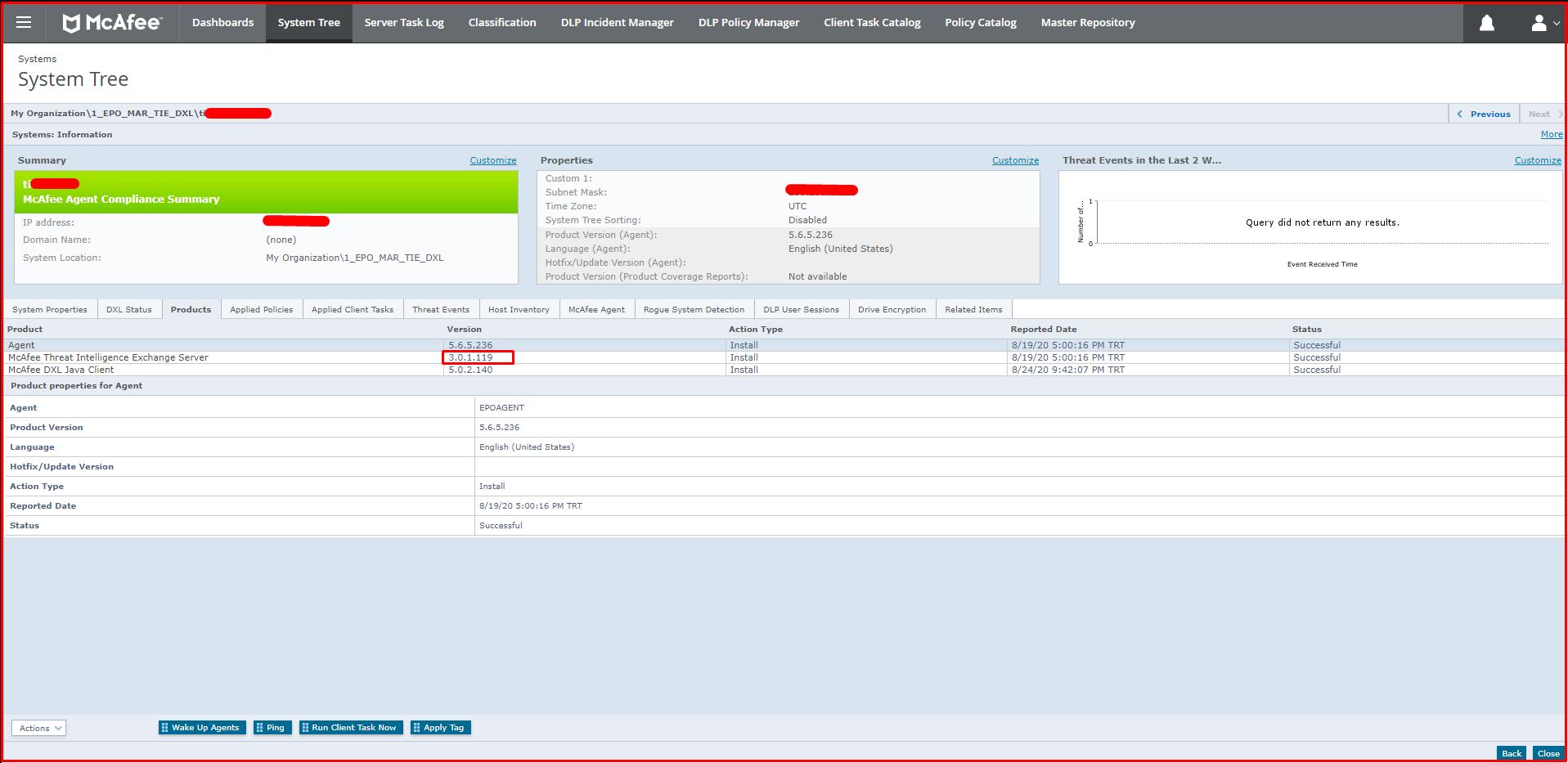 McAfee Threat Intelligence Exchange Server
