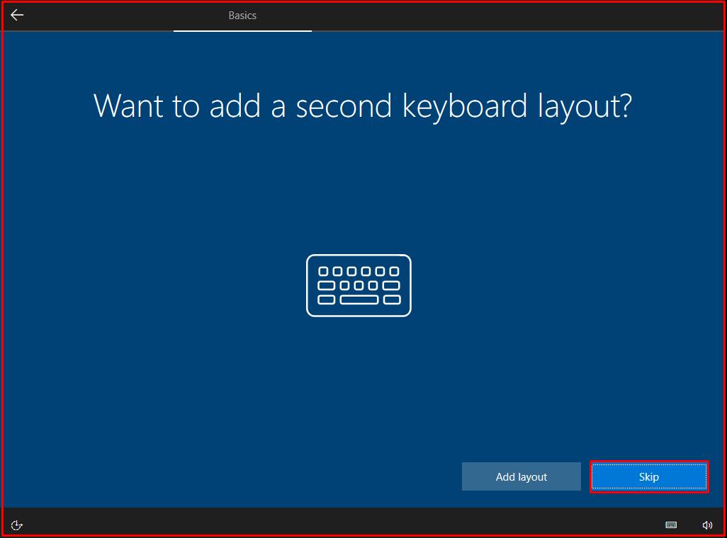 additional keyboard layout