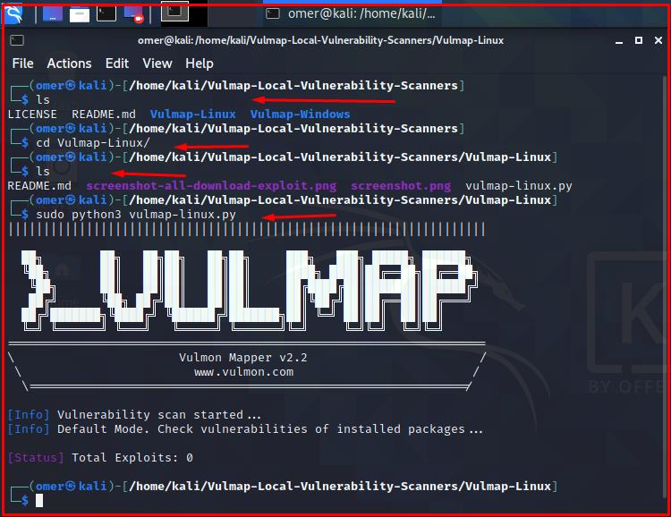Download Vulmap Linux